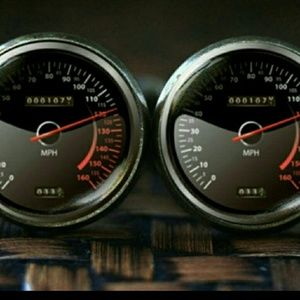 New Automotive Speedometer Cuff Links
